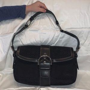 Authentic Black Coach Handbag